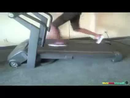 Tread Carefully. Treadmill fails.
