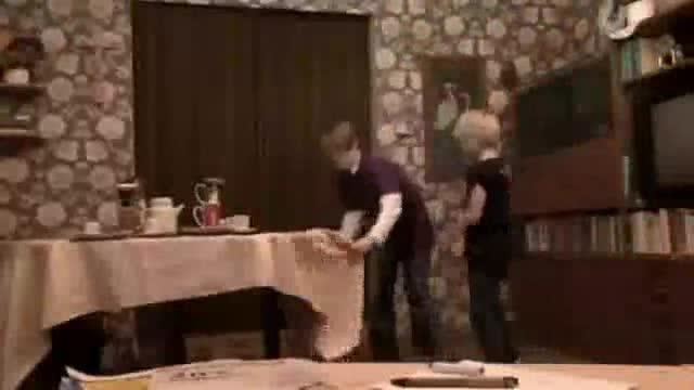 German Magic. Its almost like he disappeared.. aHAHAHAHAHA!! I am dying!!
