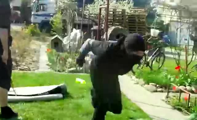 Those darn ninjas.. .. Holy a nin-