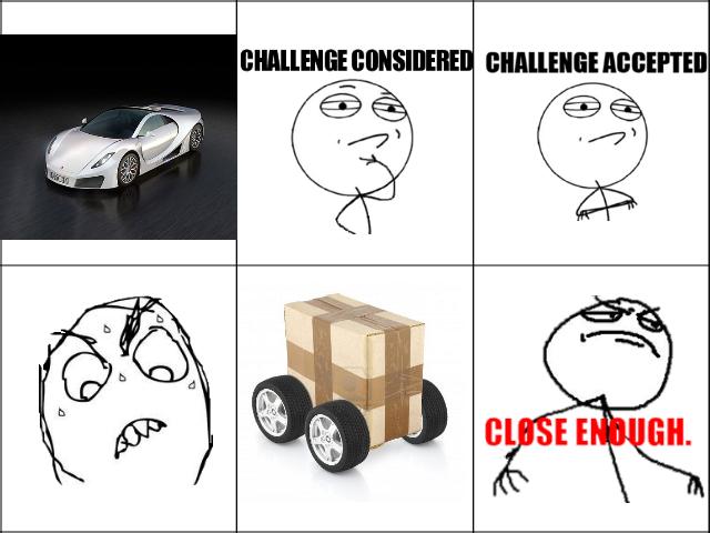 Cardboard car. . Cardboard car