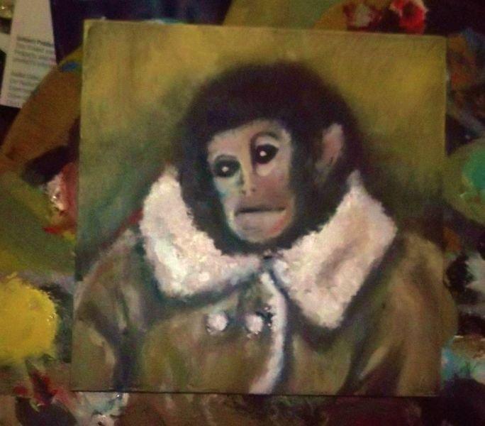 Carl. This is Carl.. Hi carl carl the monkey