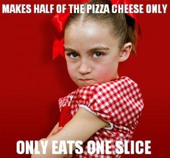Cheese Only!. Source: Source: Source: Source: . AMKES MU tlf Til [' SHIRE MII! Girl funny child