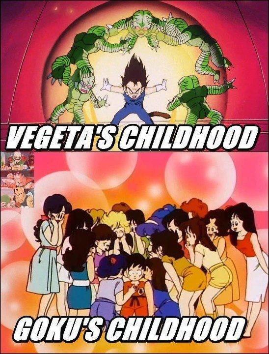 Childhoods. Dragonballz. ti t l nigg