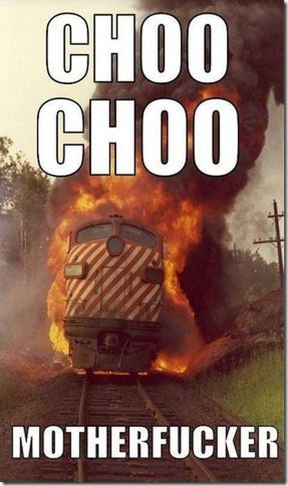 CHOO CHOO. . CHOO