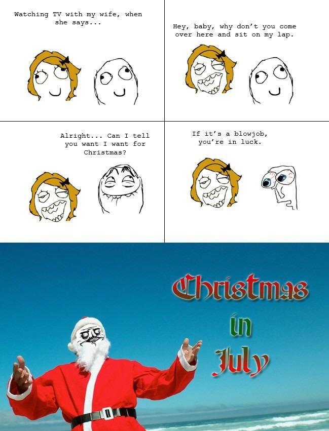 christmas in december. .. your reaction no description