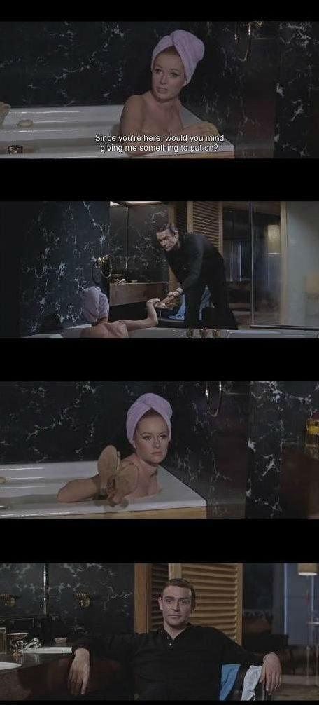 Classic Bond. I wanna watch this movie again.. Classic Bond I wanna watch this movie again