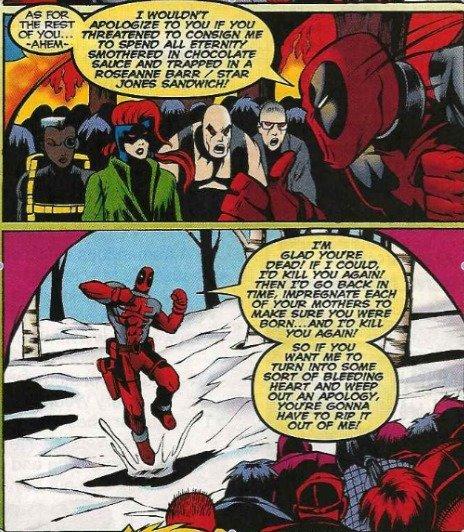 Classic Deadpool. . ita lehi: h' 'relese' A' ' Kirra REHAB Classic Deadpool ita lehi: h' 'relese' A' ' Kirra REHAB