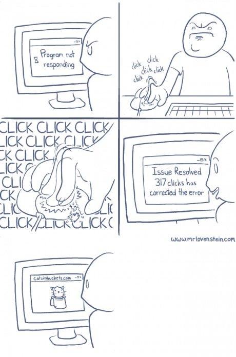 Click to fix. . Issue fleshed l) disu 'Hui boreded erer fix click Not responding error comic