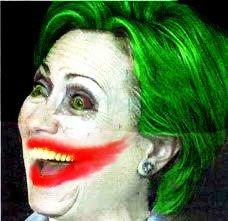 Clinton the Joker. Wanna know how I didn't get elected?.. looks like my girlfriend why she's drunk america Hillary Clinton batman The dark knignt joker Photoshop