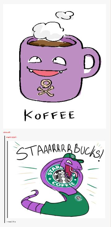 Coffee. .. cofffeeee Coffee Pokemon