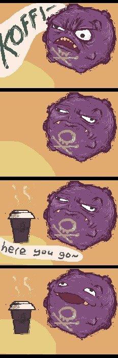 Coffing. .. Can i has coffee? my Dick is samurai sword