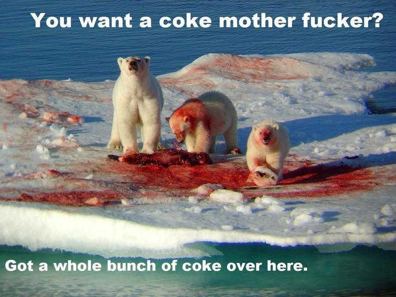 Coka Cola. . You want a coke mother fucker'? Got a whole bunch of coke over here.. Finally! Now i feel like X-mas! Coka Cola You want a coke mother fucker'? Got whole bunch of over here Finally! Now i feel like X-mas!