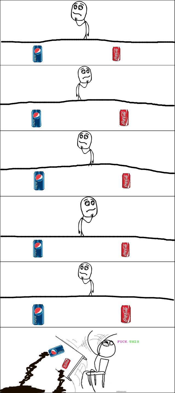 Coke&Pepsi. . Coke&Pepsi