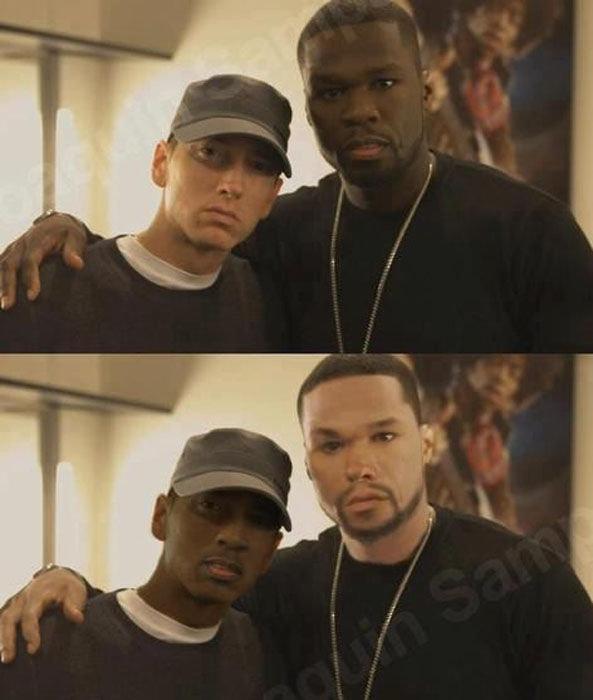 Colour swap. .. 50 Cent looks mexican asdasdasdasd