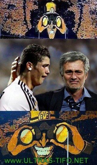 Congratulations. Dortmund! Not OC. Ronaldo come home