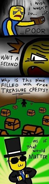 conveniant. lel. NAFTA _.htuc,. FEELED 'XMI, = an poor Money chests treasure