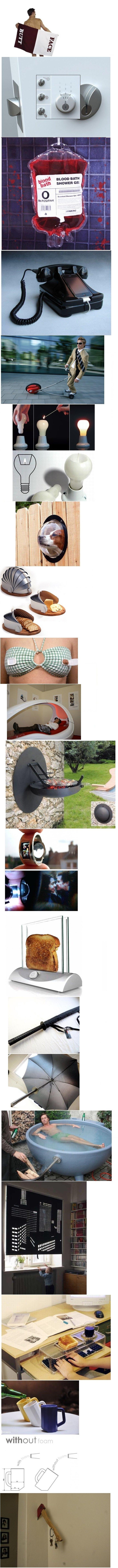 Cool & weird inventions. 100 % OC +50 thumbs for moar! . BLOOD BATH littl SHOWER an inventions