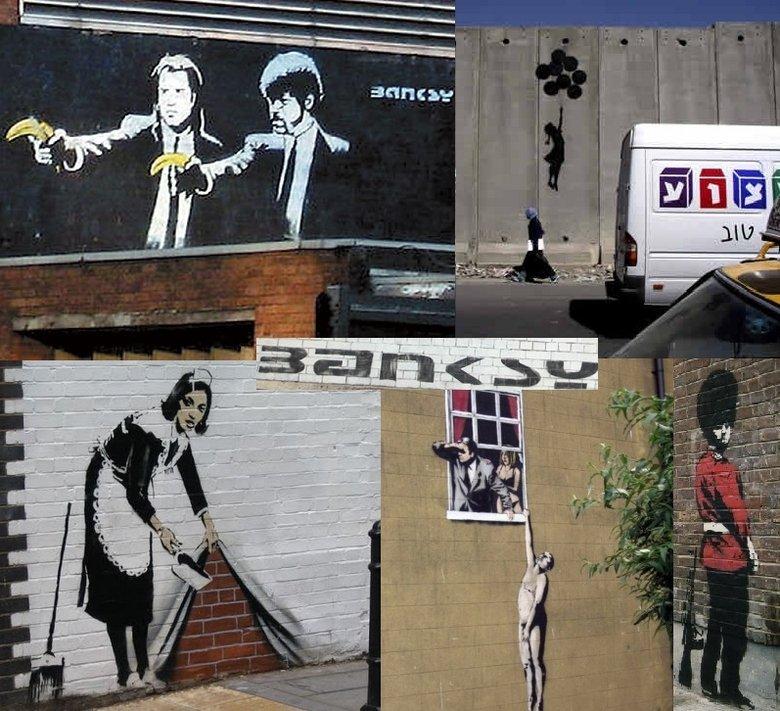 cool graffiti. . Graffiti Banksy