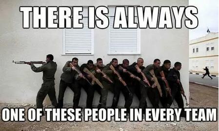 Counter Strike. .. He's watching their backs ASS titties
