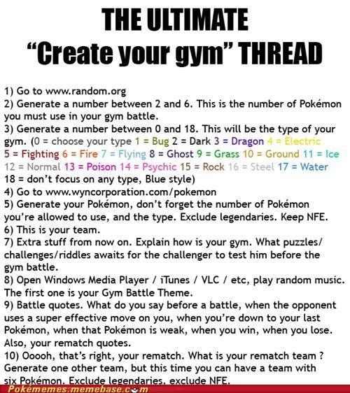 Create Your Gym. . Create Your Gym