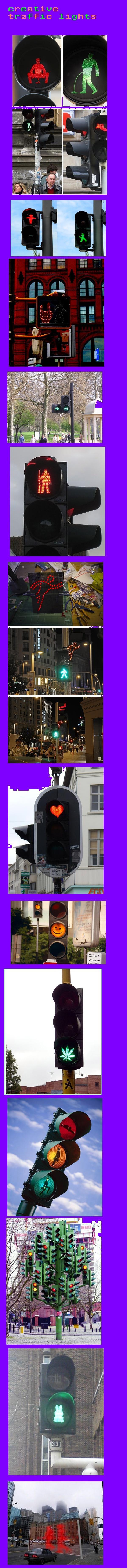 Creative traffic lights. traffic jams. Mi iii ML 4111, II I traffic light traffic jam win