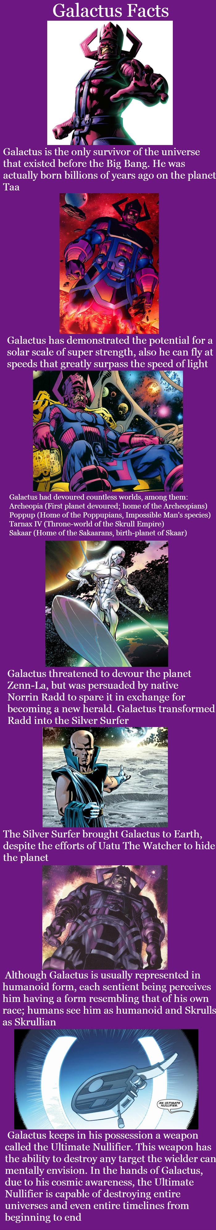 Galactus Comp. Iron Man Comp: /Iron+Man+Facts/funny-pictures/5064588/ Carnage Comp: /Carnage+Facts/funny-pictures/5063822/ Nightcrawler Comp: /Nightcrawler+Fact super hero facts