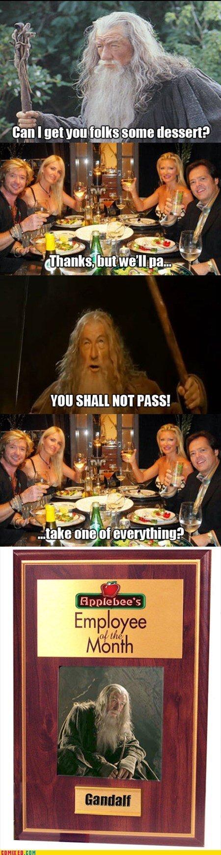 Gandalf got his shit together. . Gandalf got his shit together