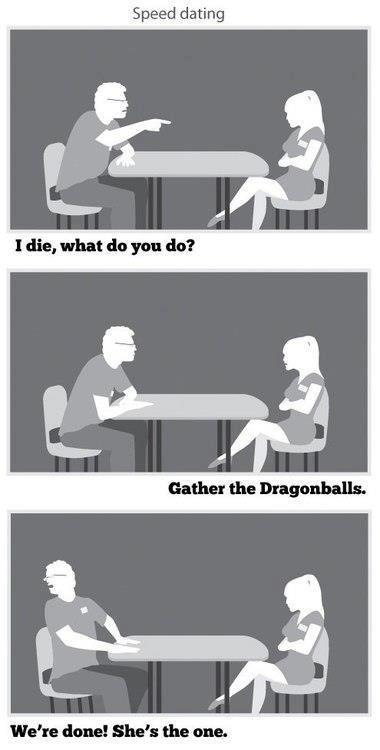 Gather the Dragonballs. or else, krillin dies.. Gather the Dragonballs or else krillin dies