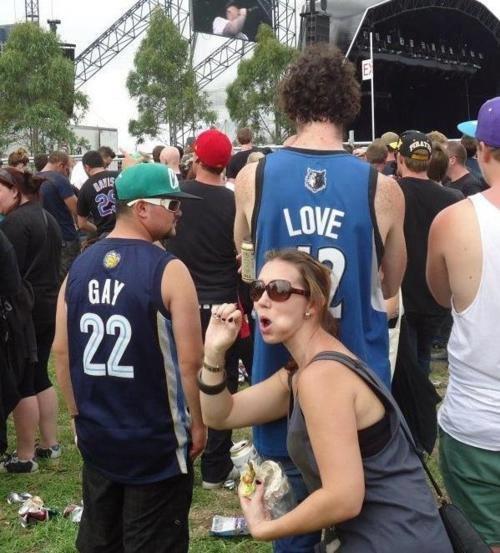 Gay love. How romantic......