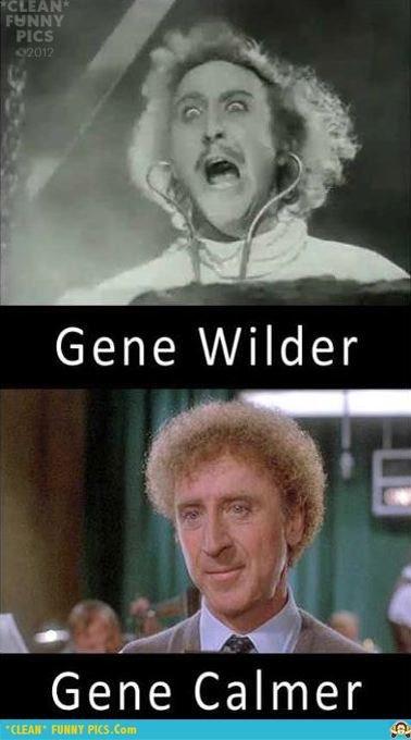 Gene wilder. Well hey a new guy!. Gene Calmer willys wonka parts