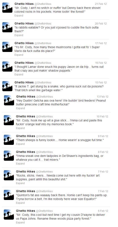 Ghetto Hikes. . Ghetto Hikes