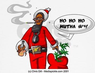 ghetto santa. ho ho ho motha .. Right in time for the holiday season! ghetto santa ho motha Right in time for the holiday season!