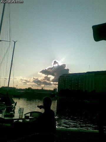 Ghost cloud. ghost cloud in Finland. ghost cloud Finland