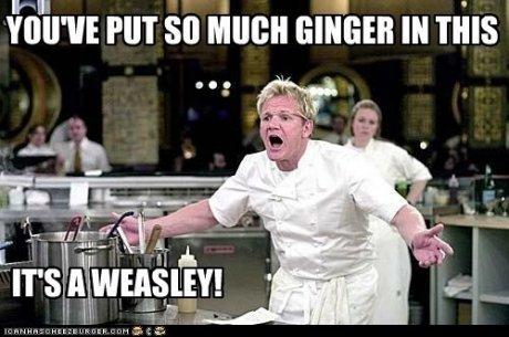 Ginger. . Ginger