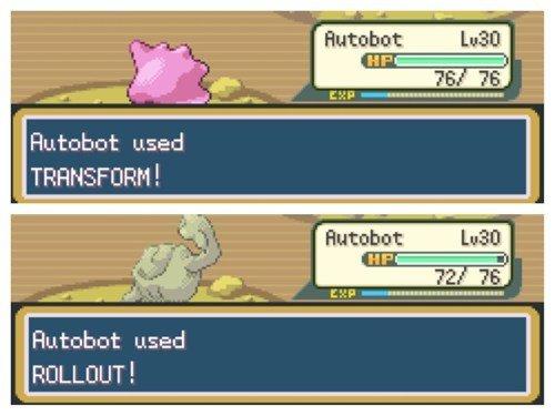 Go Megatron. . Huttbug Lased it F used ROL UL ! Pokemon autobot transformers