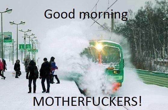 Good Morning!. . Good Morning!