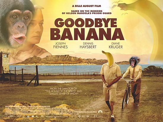 Goodbye Banana. . GOODBYE V BANANA HEN NEE HATS BERT HRH GEE. starring Ray Comfort mandela died oh no
