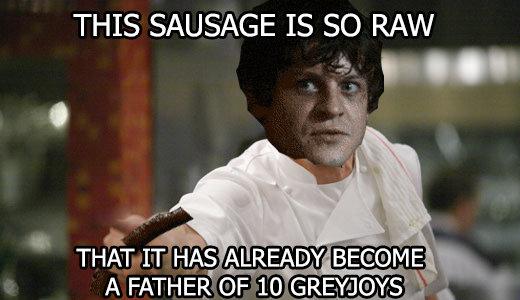 Gordon Ramsay Snow and sausage. . THIS SAUSAGE IS SO RAIN q Its Gordon Ramsay Snow and sausage THIS SAUSAGE IS SO RAIN q Its