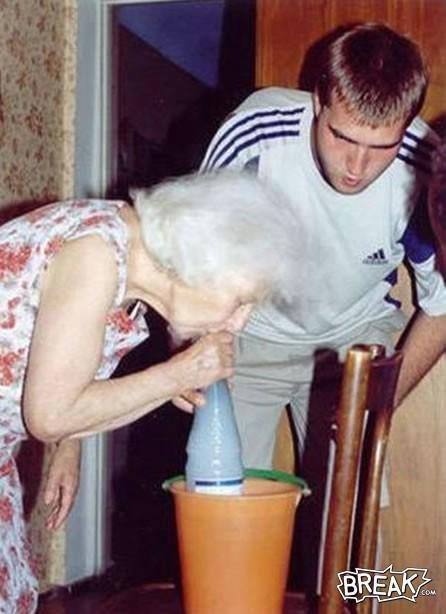 Gran gran what are you baking?. Obvious source.. Gram gram?!