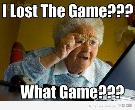 Grandma. You lost it too. I lost The aam Grandma You lost it too I The aam