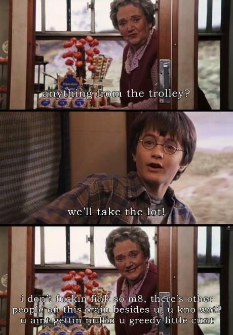 Greedy Potter. .. But Im the chosen hwone! Greedy Potter But Im the chosen hwone!