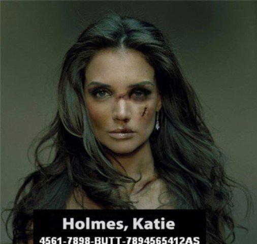 Katie went psycho last week. . Holmes, Katie iim OAS;. lol it said butt funny pic Celebrities celeb