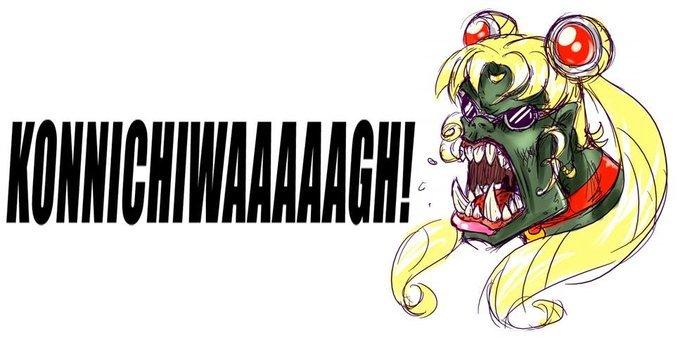 Kawaii Desu~. WAAAAAAAAAAAGGGGHHHH!.. Needs more DAKKA!!! Japan ork 40k warhammer