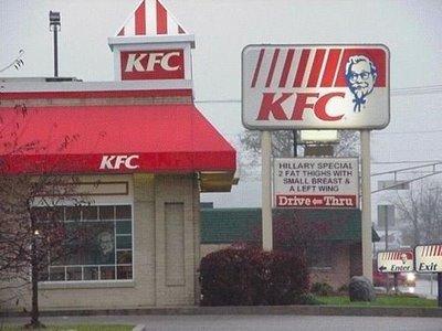 KFC special. .. haaha thats good KFC special haaha thats good