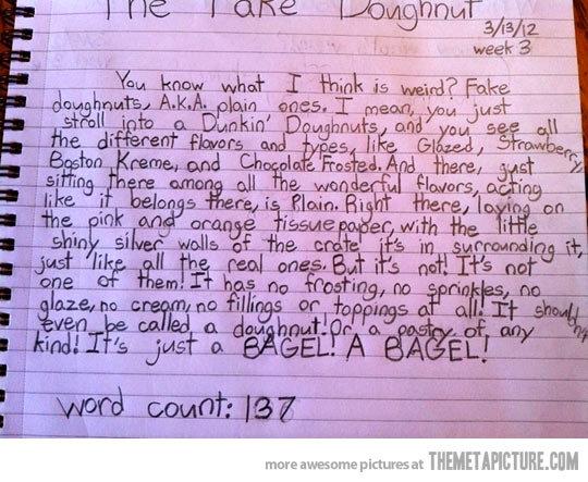 Kids Hate Fake Doughnuts. . week g Kids Hate Fake Doughnuts week g