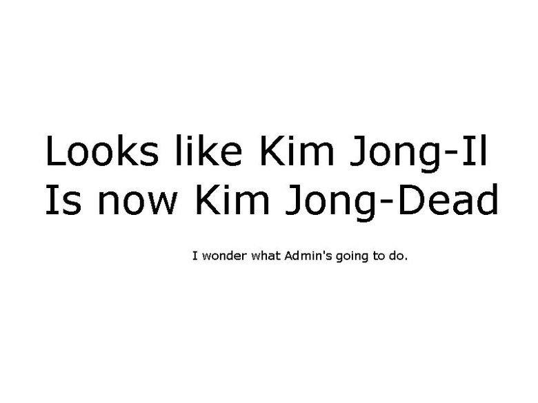 Kim Jong il. More OC.. Kim Jong il More OC