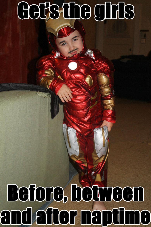 Kindergarten Ironman. . mam. get's Kindergarten Ironman mam get's