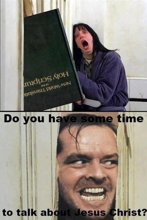 knock knock. . knock