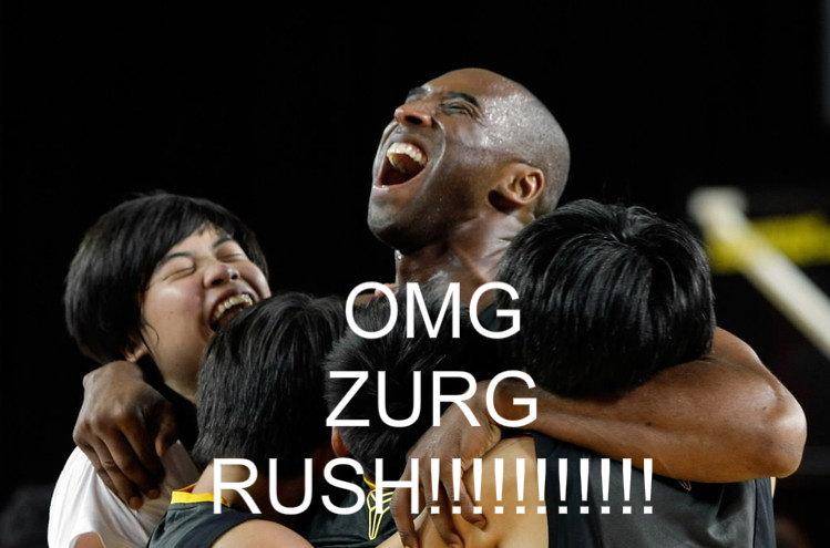 Kobe bryant Zurg rush. the title explains it.. kobe bryant zurg Rush