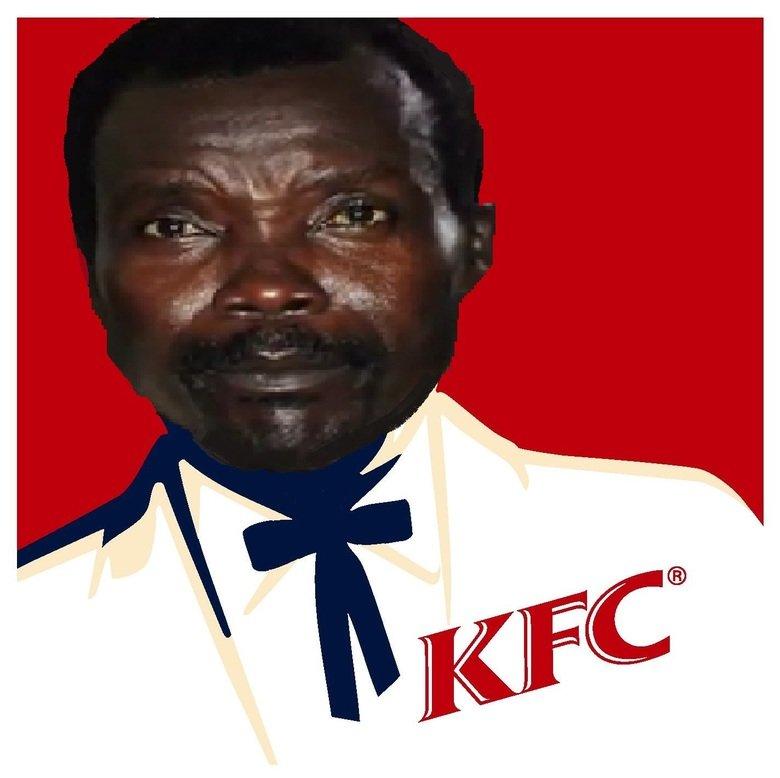 Kony Found Children. .. Kony Fried Children? Kony KFC Chicken